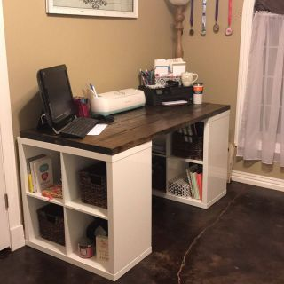 Homemade Desk Lovely Diy Craft Desk In 2020