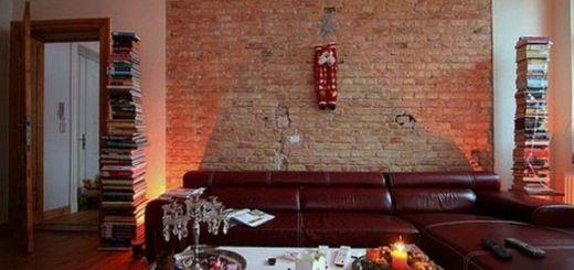 Incredible Cream Living Room Ideas Unique Incredible Bricks Wall Interior Design Ideas with Cream