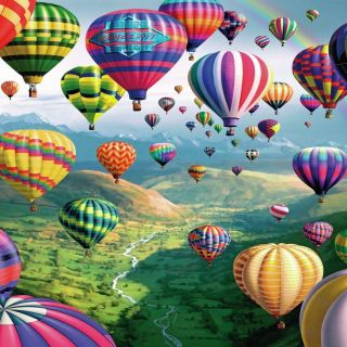 Picturesque Hot Air Balloon Decorations Luxury Beautiful Views Of Air Balloons