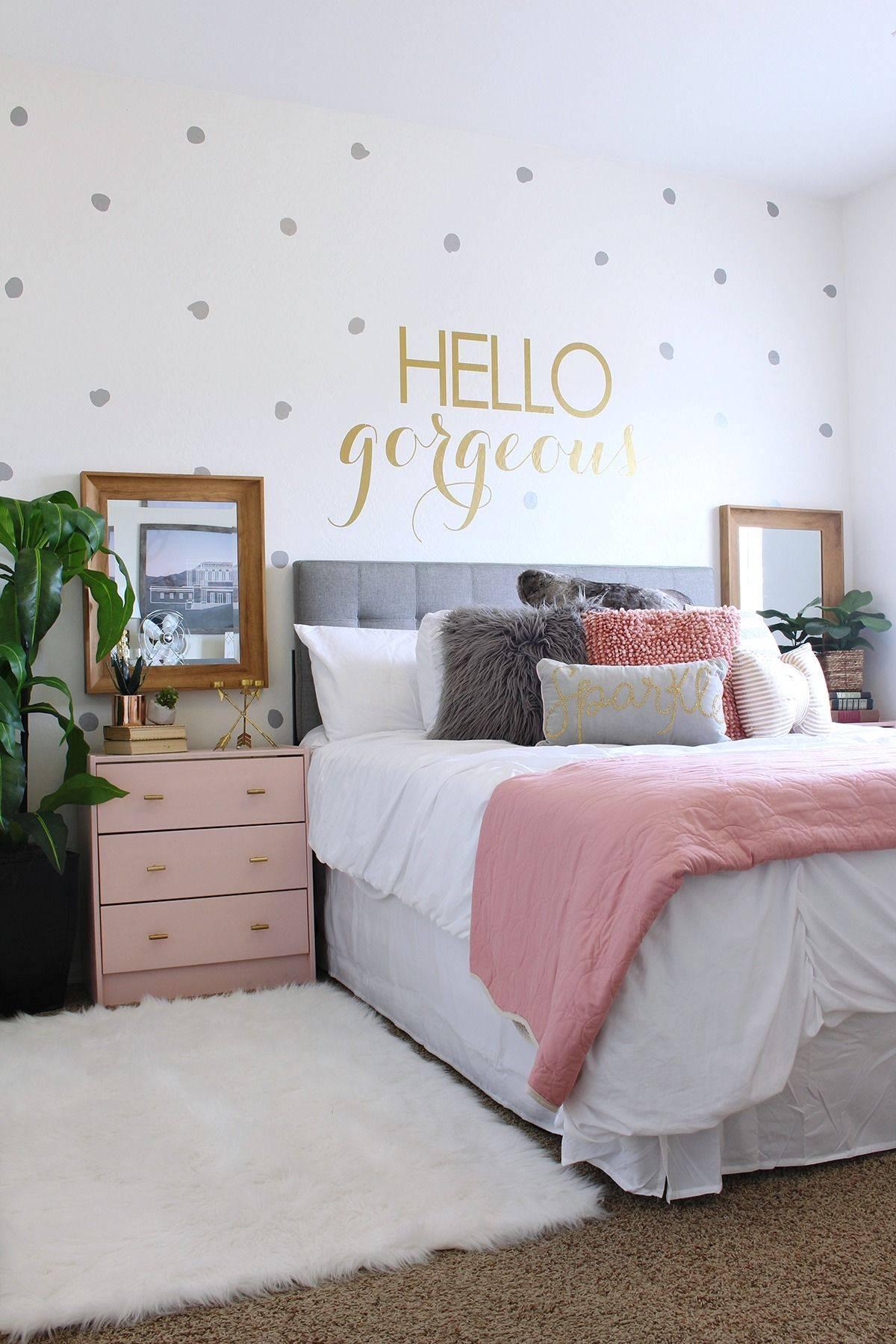 Pink and Mint Bedroom Lovely Btgbigr50