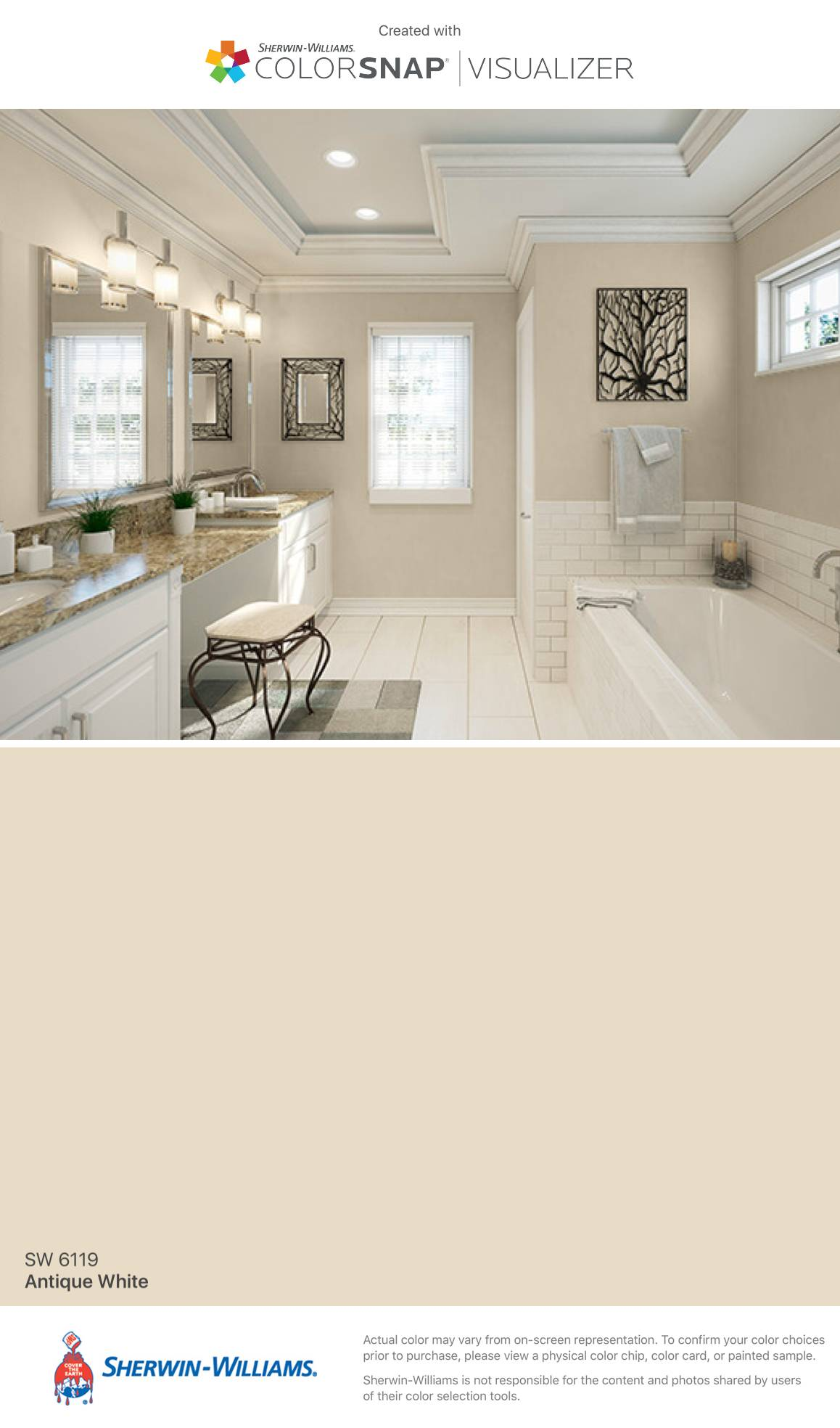 Silver Strand by Sherwin Williams Lovely I Found This Color with Colorsnap Visualizer for iPhone by