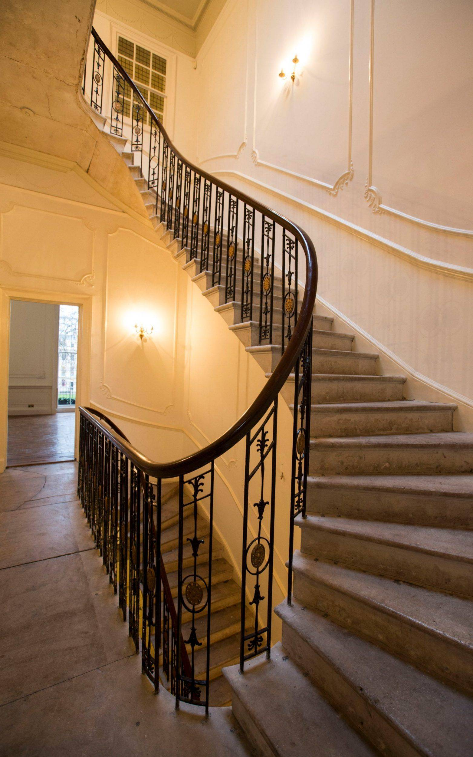 Threadhouse Curtains Awesome Six Fitzroy Square London Staircase Phantom Thread House