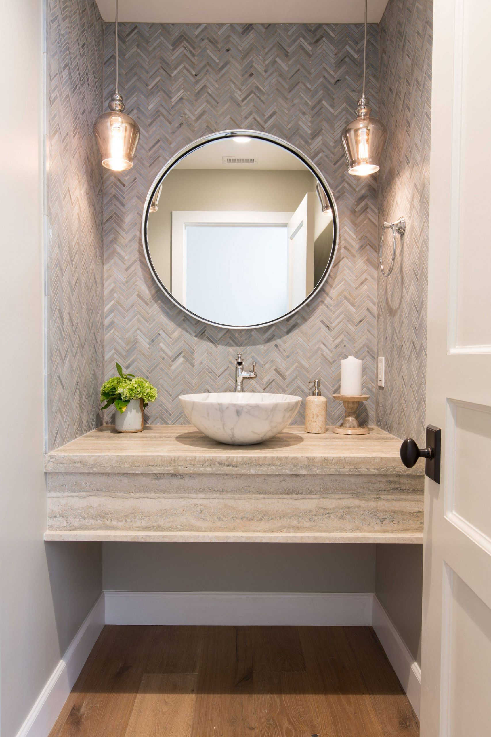 Best Of Decorative Powder Room Mirrors Fresh Wall Tile & Pendant Lights