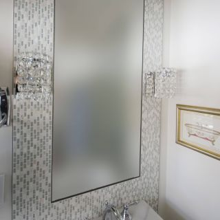 Best Of Decorative Powder Room Mirrors Unique Mosaic Framed Mirror In A Powder Room