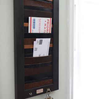 Best Of Ikea Mail organizer Beautiful Diy Mail organizer with Picture Frame and Old Leather Belts