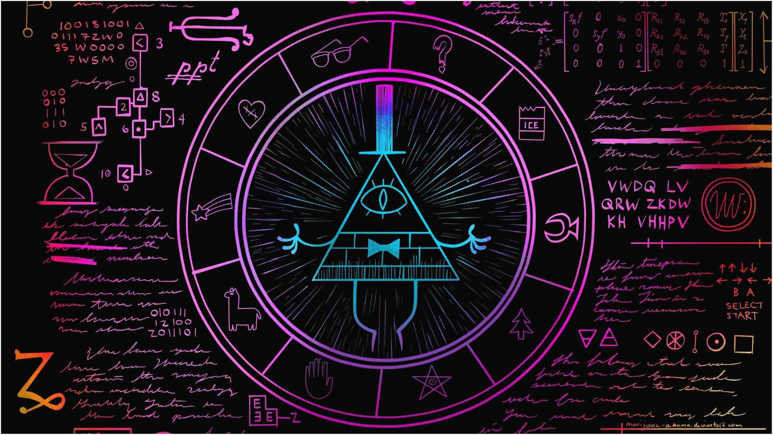 The Best gravity falls wallpapers beautiful collection background for laptop tablet and phone