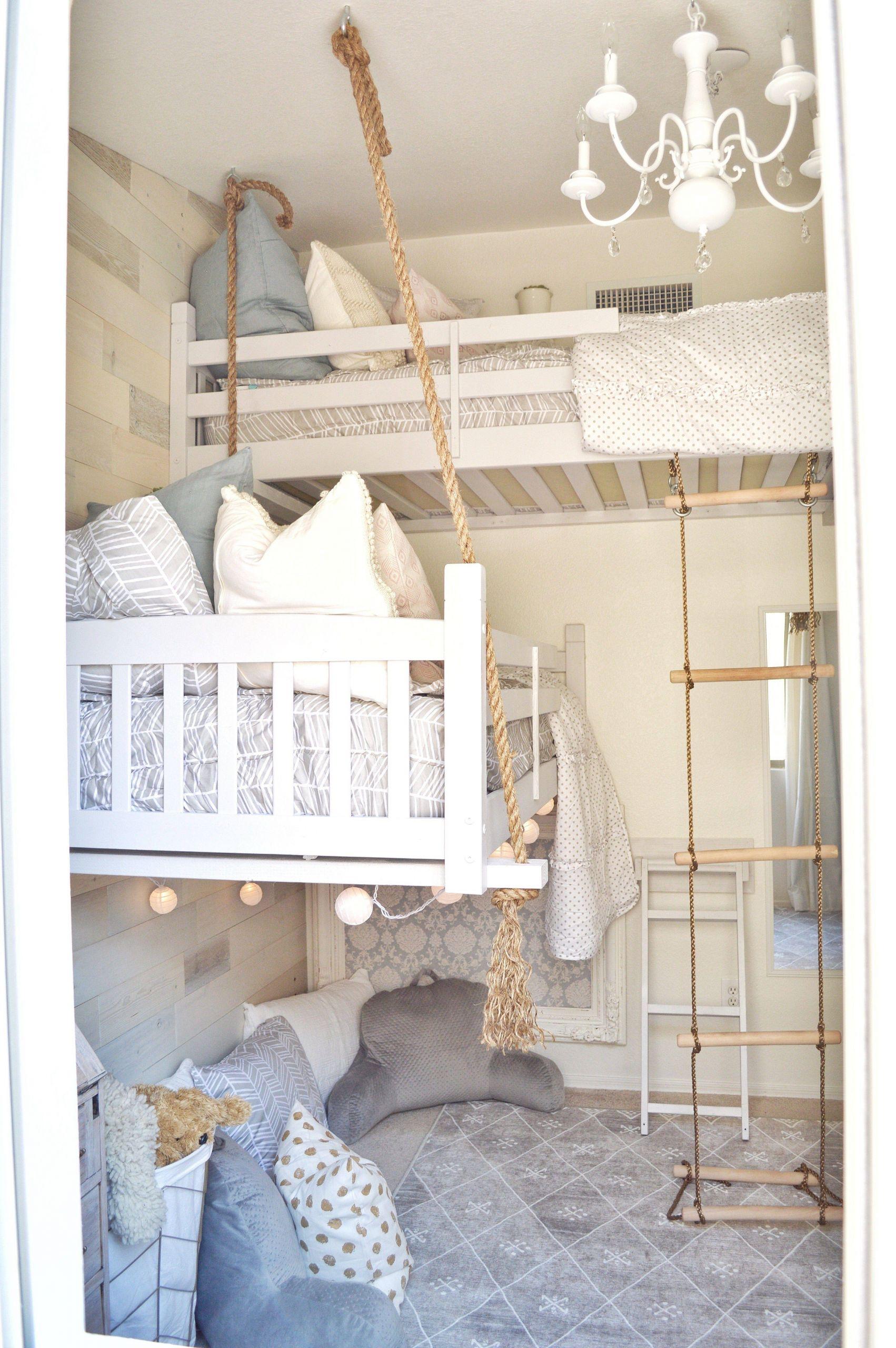 Incredible Bunk Bed Designs Unique Girls Room Makeover