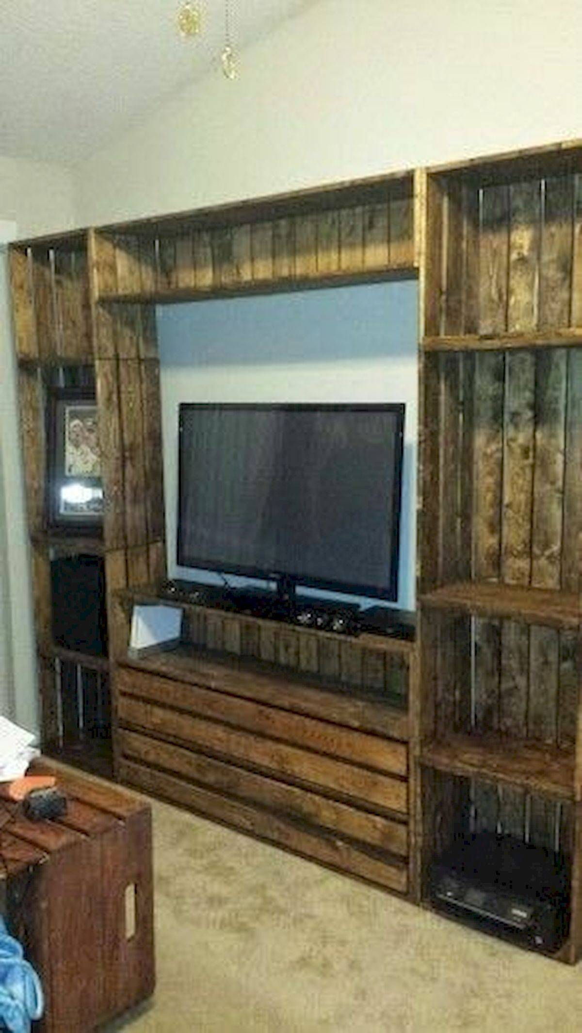 Incredible Entertainment Room Ideas Lovely 50 Awesome Pallet Furniture Tv Stand Ideas for Your Room