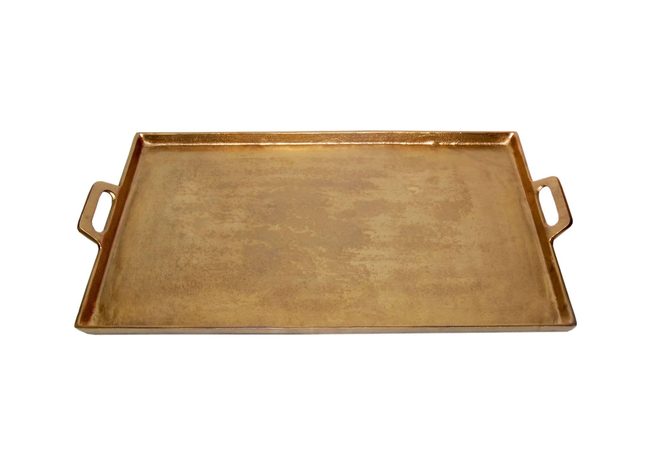 nolia aluminum serving tray