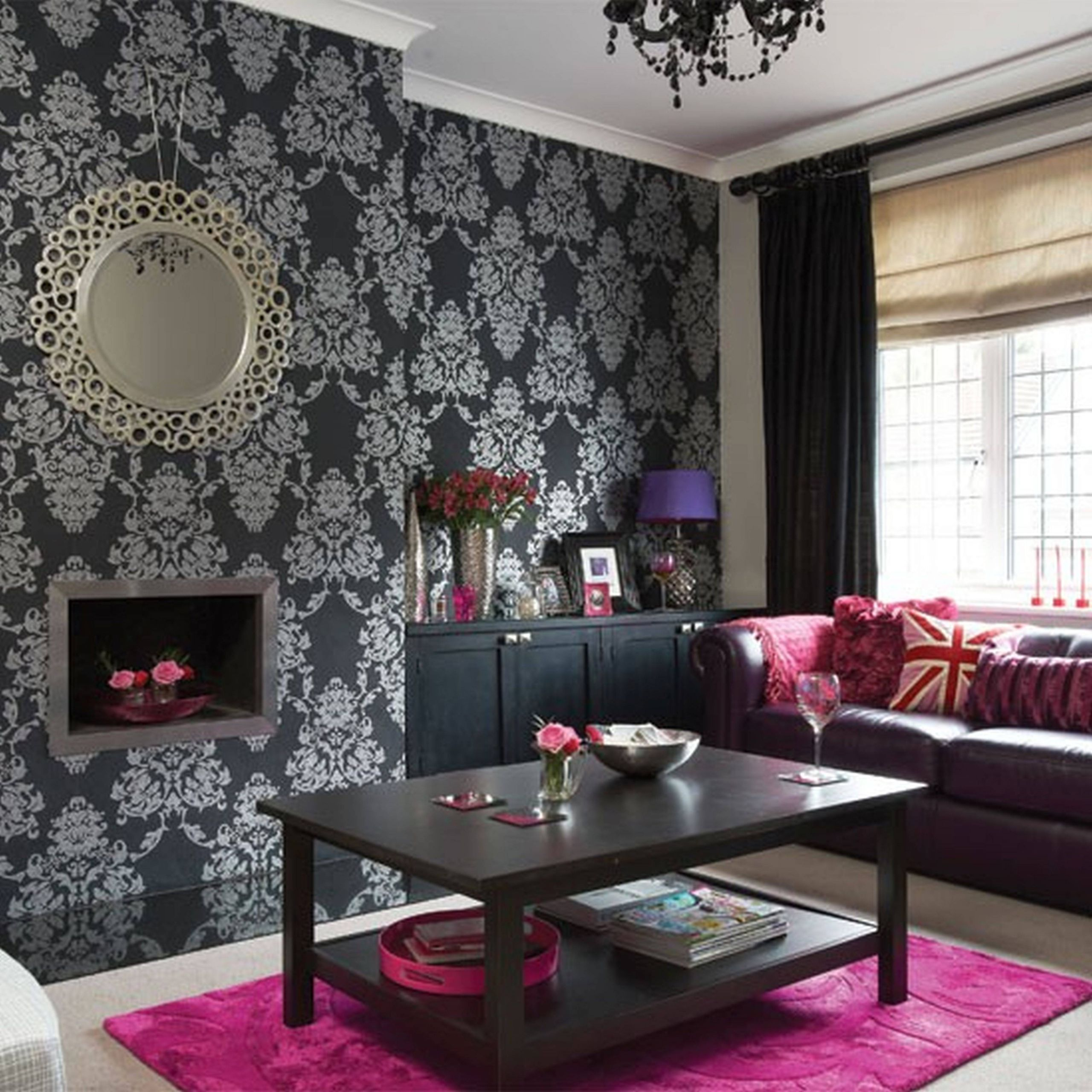 Unique Gray and Purple Living Room Best Of Purple Black and Silver Living Room Ideas