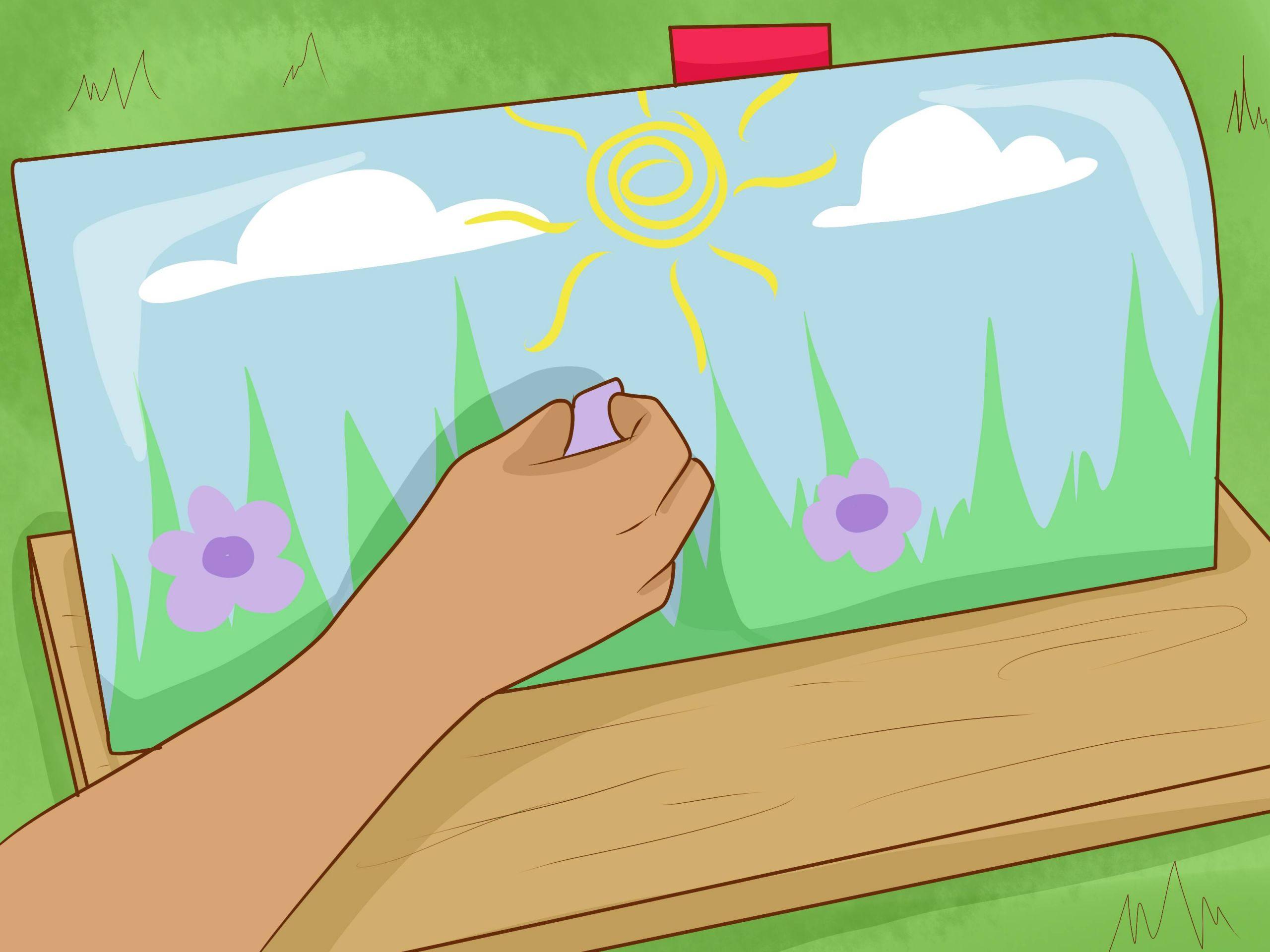 Paint a Mailbox Step 32