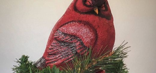Unique Red Cardinal Christmas Decorations Awesome A Snowy Cardinal R Christmas Tree topper Summit Arbor