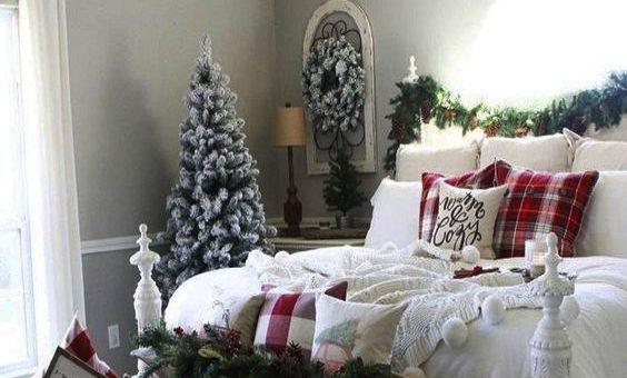 Romantic Christmas Teen Bedroom