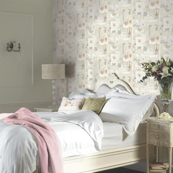 french themed bedroom romantic